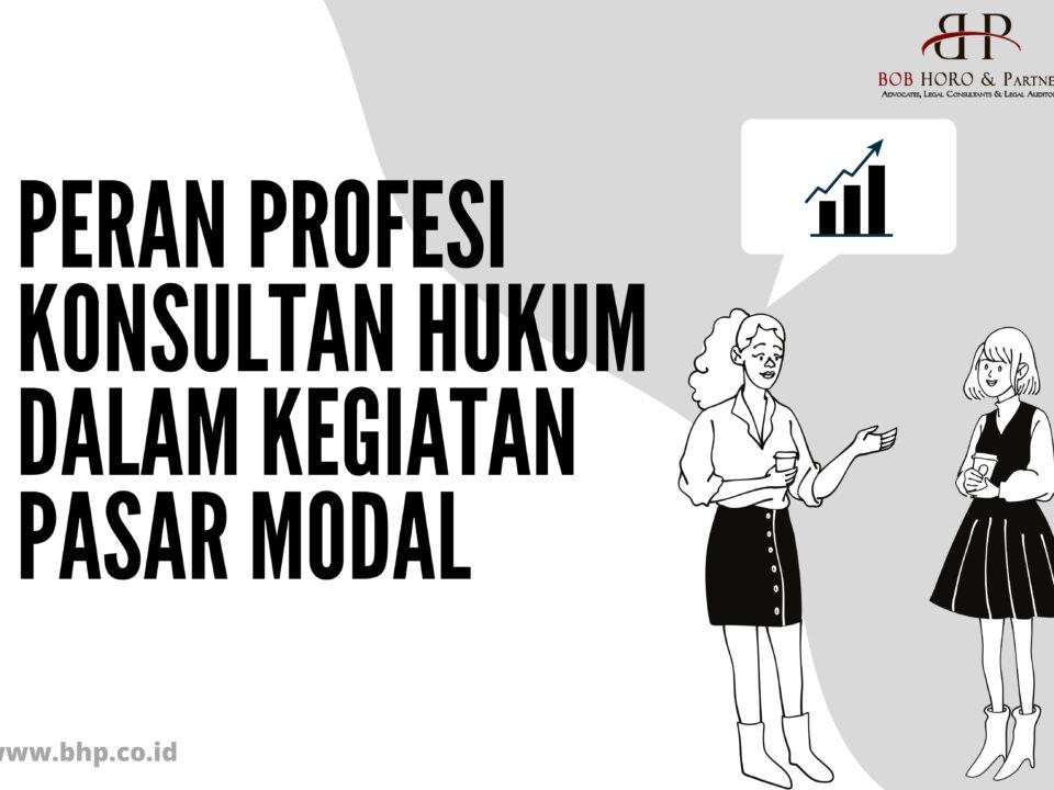 peran profesi konsultan hukum
